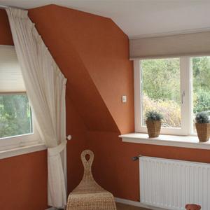 </p> <hr /> <p>Wanden en plafonds